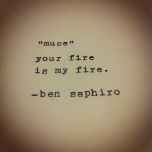 ben  saphiro muse quote