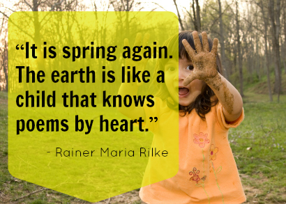Spring Child Poem Rilke