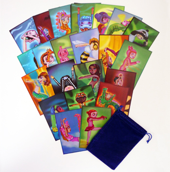 Rainbow Kids ABC Yoga Cards